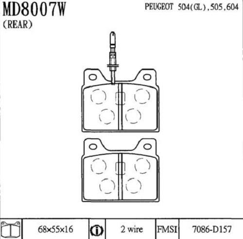 CD8007W
