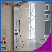 Panel de ducha de lluvia cepillado de acero inoxidable 304