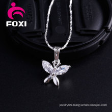 Charming Gold Butterfly Pendant Design