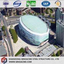 Стадион стальной структуры с современным дизайном