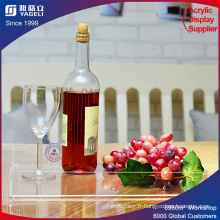 Bac à fruits à écran acrylique personnalisé clair