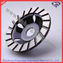 115mm Buena rueda de diamante de la fila de la fila del funcionamiento buena