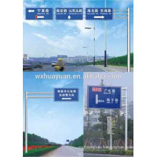 traffic guide board post