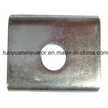 Grampo metálico usado para elevador ou elevador