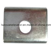 Clipe de trilho lateral usado para elevador ou elevador