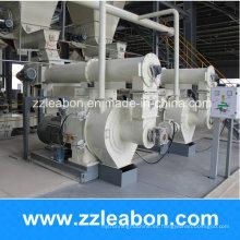 Máquina de pellets de madera de desperdicio de cáscara de arroz horizontal de energía verde