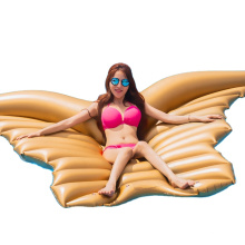 Wing-Shape Inflatable Game Floating Row Ripple  Cushion Beach Shower Lounge Chair Relief