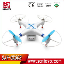 3D Drone with Camera FPV Monitor!3D RC Quadcopter Cheerson CX30S 3D RC Helicopter 2.4G Control 4CH 6 Axis