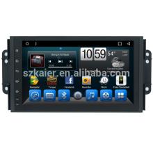 Großhandel OEM Auto dvd player Video Navigationssystem für Chery Tiggo 3X2018 2017 2016 GPS Bildschirm Einheit mit Wifi Kamera TV