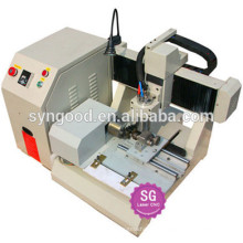 Syngood Mini CNC Router SG4040/SG3040-special for dog tag punch