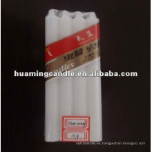 Fábrica de velas blancas simples