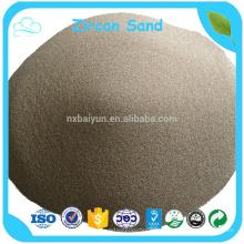 Precio de arena de zirconio de muestra gratis
