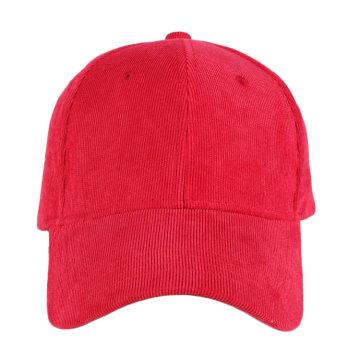 Оптовая пустой 6 панель вельвет бейсболки и шляпы