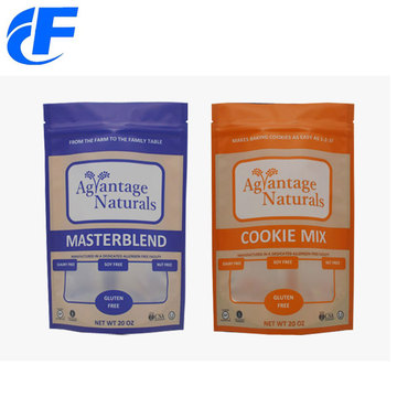 2oz Standup Zipper Foil Bags For Food Packaging