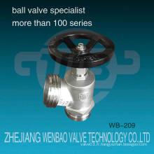 Wb-209 Wenzhou Factory Ss304 Vanne à induction en acier inoxydable Dn65 Dcfa