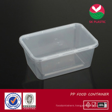 Takeaway Plastic Food Container (S 1000 with lid)