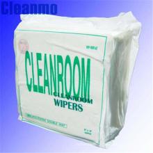 Chiffon de nettoyage d'écran d'affichage à cristaux liquides de salle blanche d'industrie WIP-1009S-LE pour des lingettes de nettoyage d'écran.