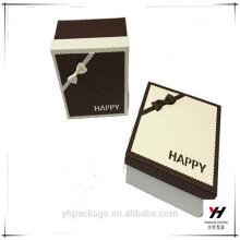 Kundenspezifisches Uhrenpapierkapselkastenharte Papppapierkasten mit Logodruck