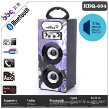 Built-in battery 1200mAh wireless mini outdoor bluetooth speaker with microphone