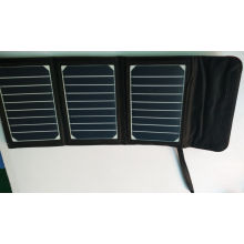 15W Sunpower Solar Foldable Mobile Phone Charger for iPad Electric Book