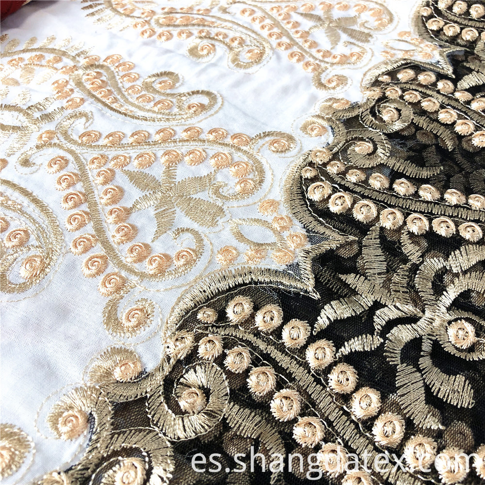 Rayon Embroidery Detail