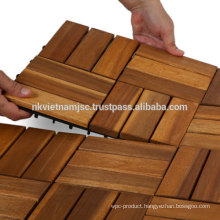 WOODEN DECK TILES 30*30CM/ DECK TILES 19MM MANUFACTURER AT HOT CHEAP PRICE