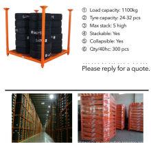 bastidores de almacenamiento resistente