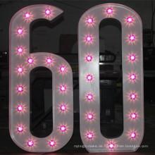 Benutzerdefinierte Glühbirne Signage
