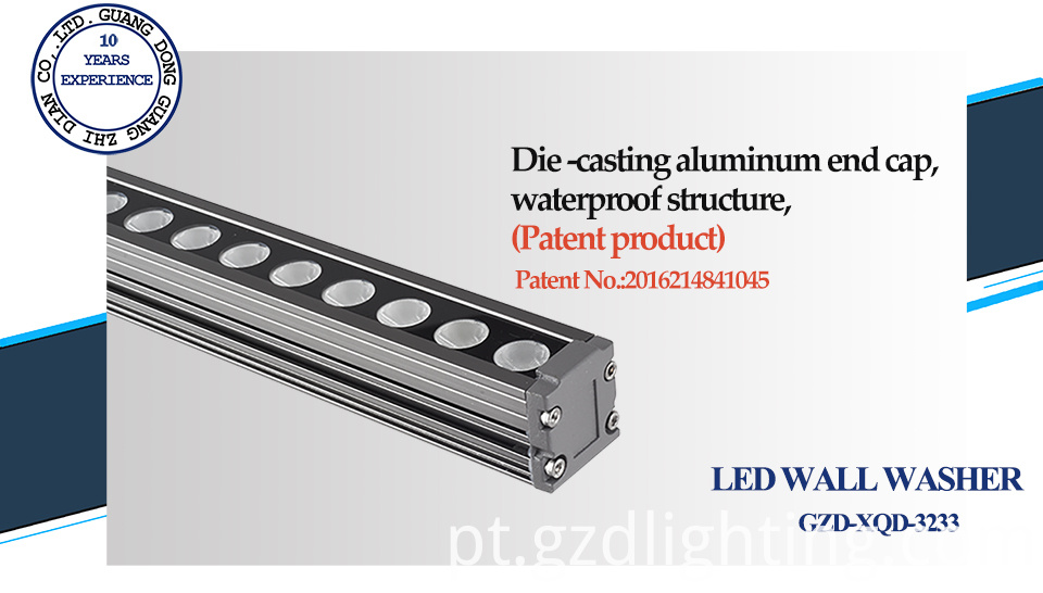 led wall washer patent