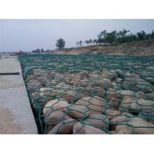 PVC Gabion Mesh Retaining Wall