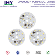 High Stability Customized Single-side Round Aluminum PCB 12V