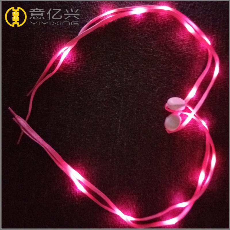 LED Shoelace With Battery