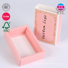 Sliding Open Drawer Box Men and Women's Underwear Box Paper Folding Clothes Package