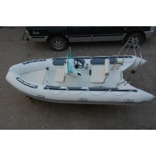 hot rowing boats RIB470 rigid hull inflatable boat with ce