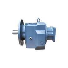 REDSUN Type High efficiency foot mounted Helical electric motor speed reducer