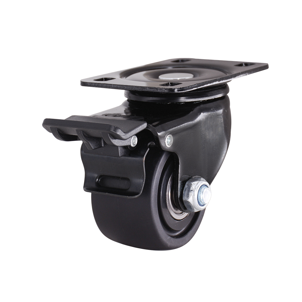 2 5 Inch Swivel Caster With Brake