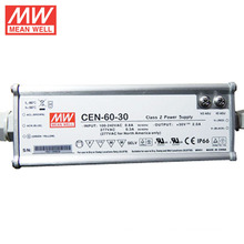 MEAN WELL IP66 90-295VAC Input LED Driver 60W 30V 2A UL CUL TUV CE CB with PFC Function CEN-60-30