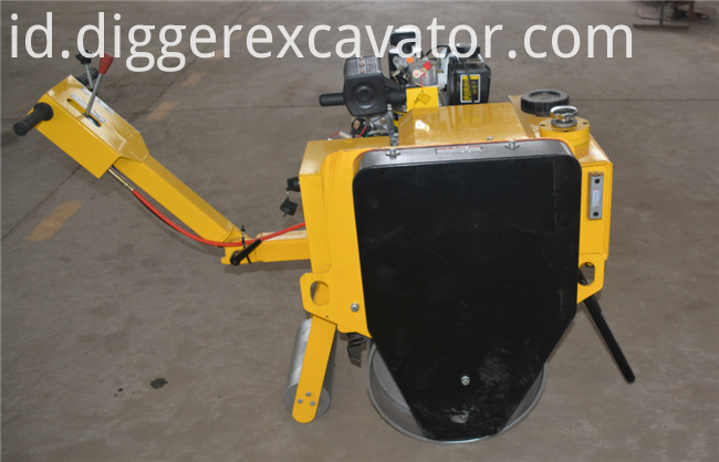 Walk behind Road Roller Vibrator