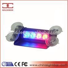 Estroboscópico interior ADVERTENCIA luz 4W luz de visera