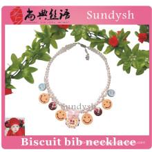 fashion wholesale beaded bubble kids chunky necklace