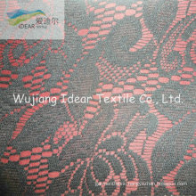 Lace Fabric Bonded With Polyester Fabric For Garment