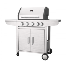 4+1 Burner Gas Barbecue Grill With Automatic Ignition