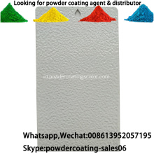 Exterior lingkungan RAL Color Polyurethane powder Coating Paint