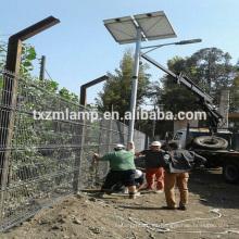 nueva luz de calle solar ahorradora de energía YANGZHOU / con postes de luz octogonal de la calle