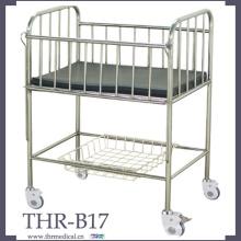 Lit d'enfant en acier inoxydable (THR-B17)