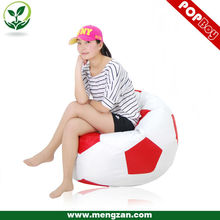 New design living room beanbag filling soccer bean bag chairs