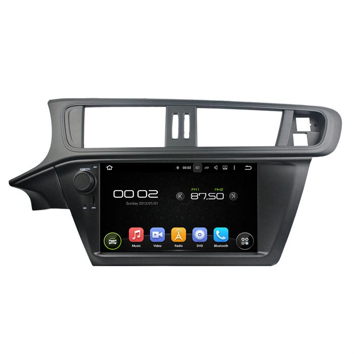 car audio player for citroen c3