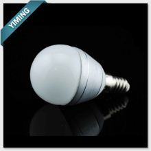 G40 2W Aluminum Dimmable LED Bulb Light