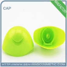Stempel grüner Plastikscheiben-Topkappen-Flaschendeckel mit gravierten