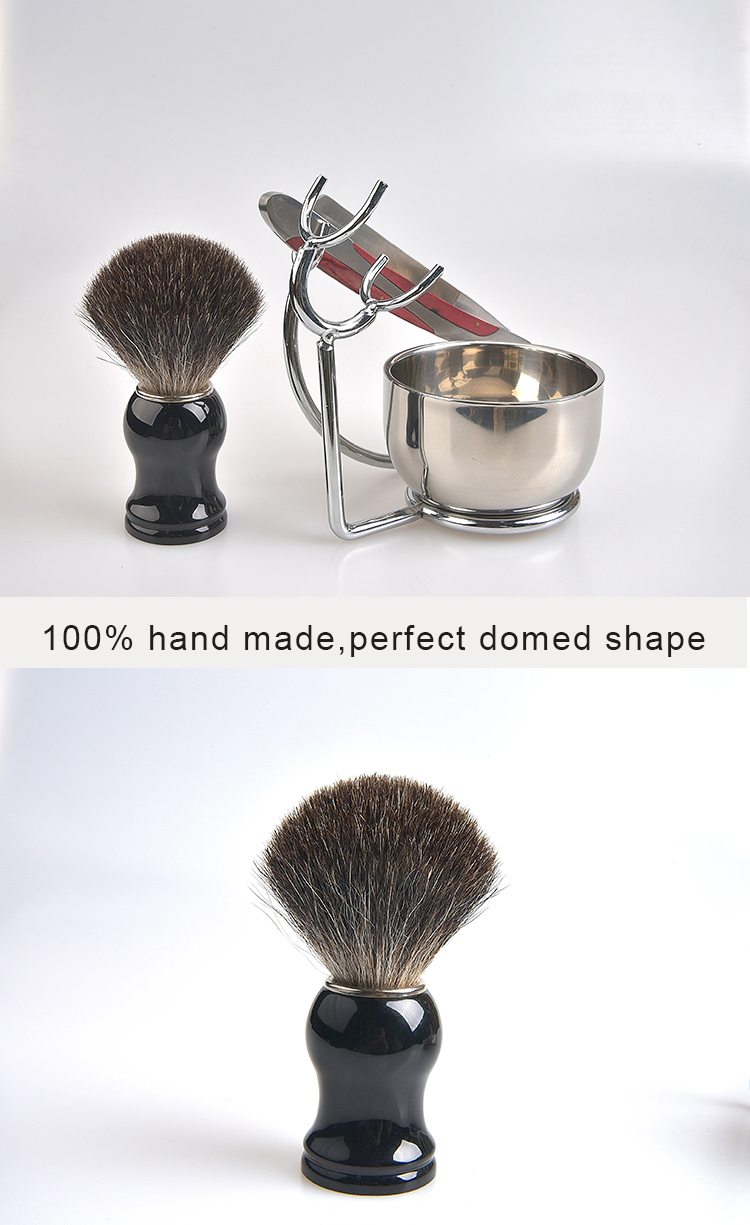 Hand made brush